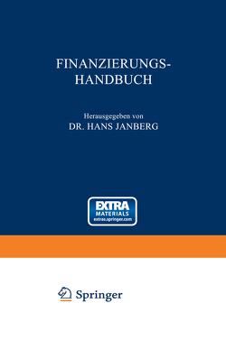 Finanzierungs-Handbuch von Janberg,  Hans