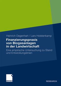 Finanzierungspraxis von Biogasanlagen in der Landwirtschaft von Degenhart,  Heinrich, Holstenkamp,  Lars