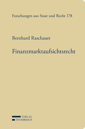 Finanzmarktaufsichtsrecht von Raschauer,  Bernhard