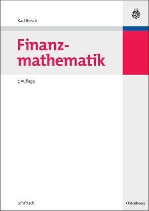 Finanzmathematik von Bosch,  Karl