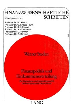 Finanzpolitik und Einkommensverteilung