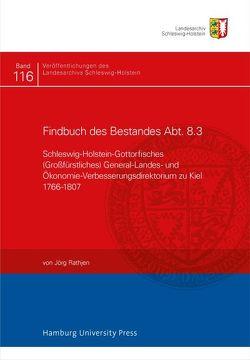 Findbuch des Bestandes Abt. 8.3 von Rathjen,  Jörg