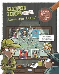 Finde den Täter – Sherlock Holmes für Kids von Lebrun,  Sandra, Méhée,  Loïc