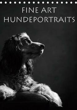 Fine Art Hundeportraits (Tischkalender 2019 DIN A5 hoch) von Behr,  Jana