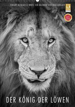 FineArt in Black and White: Der König der Löwen (Wandkalender 2019 DIN A2 hoch) von Gerlach,  Ingo