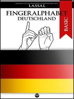 Fingeralphabet Deutschland von Lassal