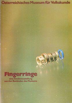 Fingerringe von Beitl,  Klaus, Bellwald,  Werner, Hempel,  Gudrun