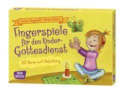 Fingerspiele für den Kindergottesdienst von Menke,  Ulrike, Seggewiß,  Swana