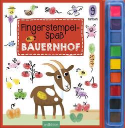 Fingerstempel-Spaß Bauernhof