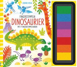 Fingerstempeln: Dinosaurier von Watt,  Fiona, Whatmore,  Candice