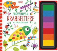 Fingerstempeln: Krabbeltiere von Watt,  Fiona, Whatmore,  Candice
