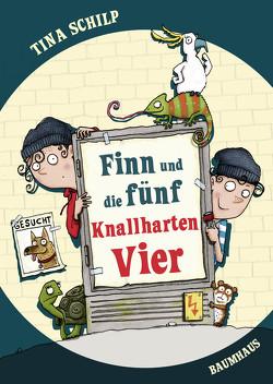 Finn und die fünf Knallharten Vier von Saleina,  Thorsten, Schilp,  Tina
