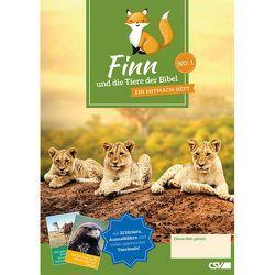 Finn und die Tiere der Bibel (NO. 1) von Werner,  Gunther