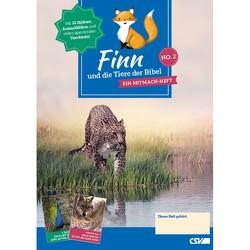 Finn und die Tiere der Bibel (NO. 2) von Werner,  Gunther