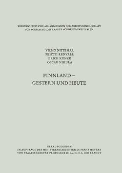 Finnland — gestern und heute von Niitemaa,  Vilho
