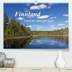 Finnland – Land der tausend Seen (Premium, hochwertiger DIN A2 Wandkalender 2020, Kunstdruck in Hochglanz) von Ergler,  Anja