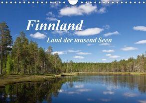 Finnland – Land der tausend Seen (Wandkalender 2018 DIN A4 quer) von Ergler,  Anja