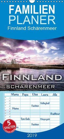 Finnland Schärenmeer – Familienplaner hoch (Wandkalender 2019 , 21 cm x 45 cm, hoch) von Pinkoss Photostorys,  Oliver