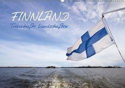 FINNLAND – Traumhafte Landschaften (Wandkalender 2018 DIN A2 quer) von Viola,  Melanie