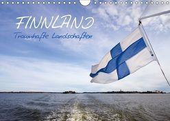 FINNLAND – Traumhafte Landschaften (Wandkalender 2018 DIN A4 quer) von Viola,  Melanie