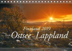 Finnland – Von der Ostsee nach Lappland (Tischkalender 2019 DIN A5 quer) von Schiedl,  Bernd