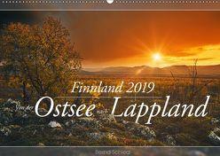 Finnland – Von der Ostsee nach Lappland (Wandkalender 2019 DIN A2 quer) von Schiedl,  Bernd