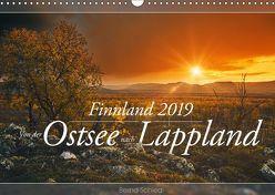 Finnland – Von der Ostsee nach Lappland (Wandkalender 2019 DIN A3 quer) von Schiedl,  Bernd