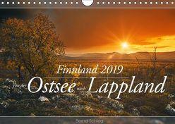 Finnland – Von der Ostsee nach Lappland (Wandkalender 2019 DIN A4 quer) von Schiedl,  Bernd
