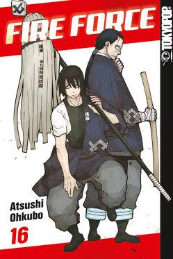 Fire Force 16 von Ohkubo,  Atsushi