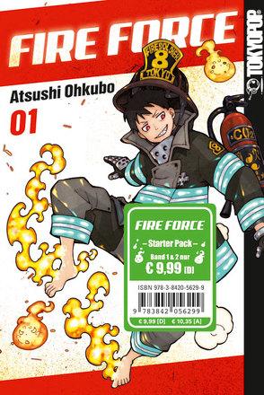 Fire Force Starter Pack von Ohkubo,  Atsushi