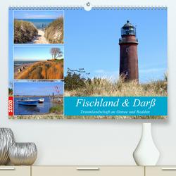 Fischland & Darß Traumlandschaft an Ostsee und Bodden (Premium, hochwertiger DIN A2 Wandkalender 2020, Kunstdruck in Hochglanz) von Prescher,  Werner