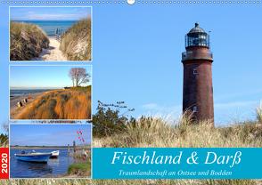 Fischland & Darß Traumlandschaft an Ostsee und Bodden (Wandkalender 2020 DIN A2 quer) von Prescher,  Werner