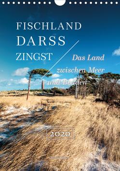 Fischland – Darß – Zingst: Das Land zwischen Meer und Bodden (Wandkalender 2020 DIN A4 hoch) von Kilmer,  Sascha