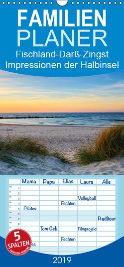 Fischland-Darß-Zingst Impressionen der Halbinsel – Familienplaner hoch (Wandkalender 2019 , 21 cm x 45 cm, hoch) von Beyer (Moqui),  Daniela
