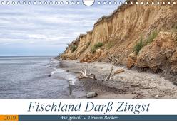 Fischland Darß Zingst – wie gemalt (Wandkalender 2019 DIN A4 quer) von Becker,  Thomas