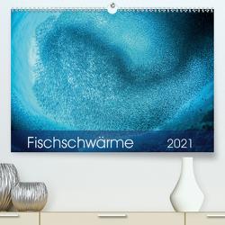 Fischschwärme (Premium, hochwertiger DIN A2 Wandkalender 2021, Kunstdruck in Hochglanz) von Jager,  Henry