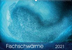 Fischschwärme (Wandkalender 2021 DIN A2 quer) von Jager,  Henry