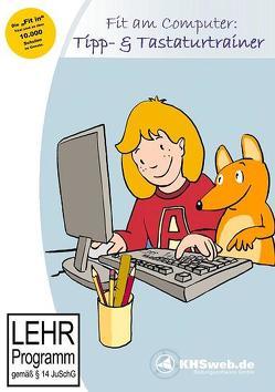 Fit am Computer: Tipp- und Tastaturtrainer (Windows 10 / 8 / 7 / Viista / XP) von Giesen,  Ingeborg, Nolte,  Annegret