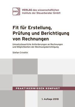 Fit für die Erstellung, Prüfung und Berichtigung von Rechnungen von Crivellin,  Stefan