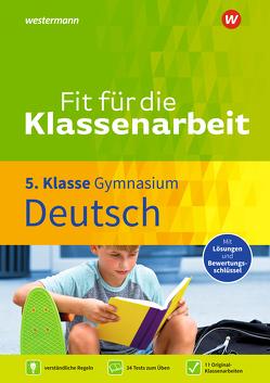Fit für die Klassenarbeit / Fit für die Klassenarbeit – Gymnasium von Zimmer,  Thorsten