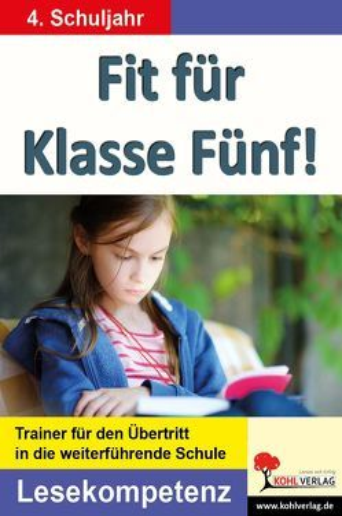 Fit für Klasse Fünf! – Lesekompetenz von Brandenburg,  Birgit
