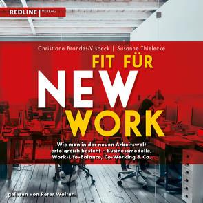 Fit für New Work von Brandes-Visbeck,  Christiane, Thielecke,  Susanne, Wolter,  Peter