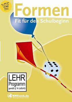 Fit für den Schulstart: Formen – Windows 8 / 7 / Vista / XP von Ballin,  Dieter, Myrenne-Ballin,  Doris