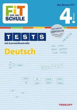 FiT FÜR DIE SCHULE: Tests Deutsch 4. Klasse von Kohring,  Peter