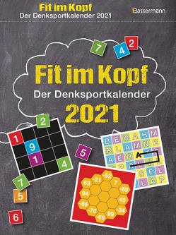 Fit im Kopf – der Denksport-Kalender 2021 von Krüger,  Eberhard