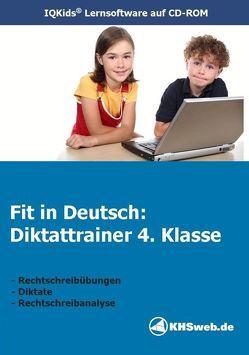 Fit in Deutsch: Diktattrainer 4. Klasse (Windows 10 / 8 / 7 / Vista / XP) von Meusel,  Egon, Myrenne-Ballin,  Doris