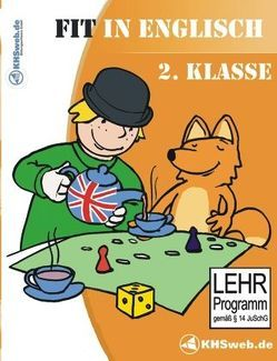 Fit in Englisch: Lernspiele 2. Klasse – Windows 10 / 8 / 7 / Vista / XP von Heim,  Evelyn