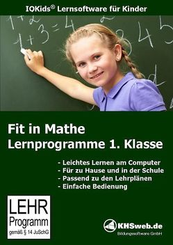 Fit in Mathe: Lernprogramme 1. Klasse – Windows 10 / 8 / 7 / Vista / XP von Ballin,  Dieter, Myrenne-Ballin,  Doris