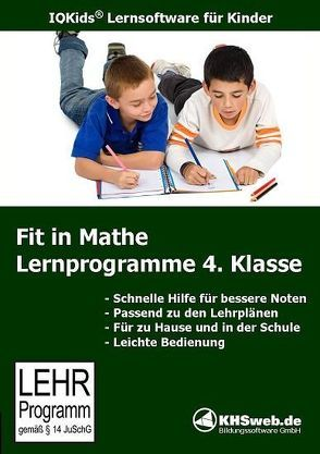Fit in Mathe: Lernprogramme 4. Klasse – Windows 10 / 8 / 7 / Vista / XP