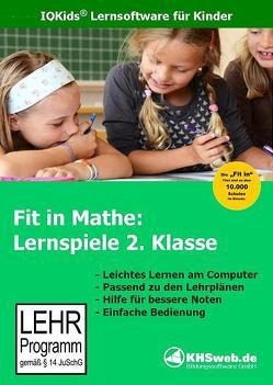 Fit in Mathe: Lernspiele 2. Klasse von Heim,  Evelyn